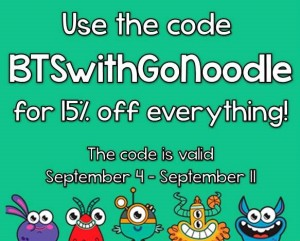 gonoodle discount code